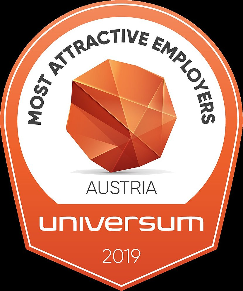 "Siegel Universum ""Most attractive employers"" für Österreich in 2019"