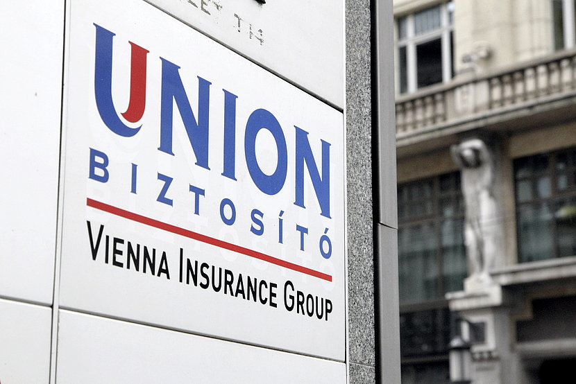Building signage of Union