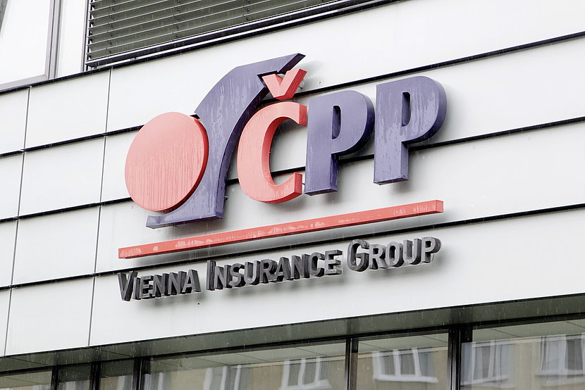 Building signage of CPP