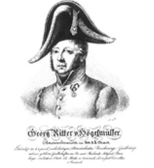 Picture of Georg knight of Högelmüller, austrian officer and founding father of VIG